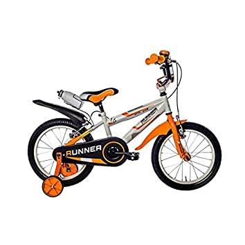 1209c6b346b 'Bicycle Boys SCHIANO Runner 16 Inch, weiß/orange: Amazon.co.uk: Sports &  Outdoors