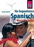 Kauderwelsch, Spanisch für Argentinien Wort für Wort