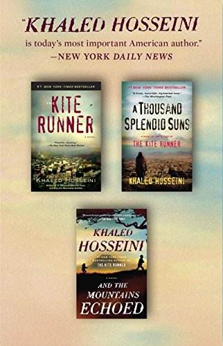 The Kite Runner / A Thousand Splendid Suns / And the Mountains Echoed. Box Set Cover Image