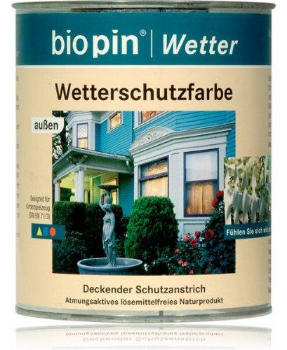 BIOPIN WETTERSCHUTZLASUR - 0.75 LTR (NORDISCH-GRUEN)
