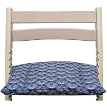 blaus Berg Baby–Cojín de tamaño grande (para soporte tabla) para stokke Tripp trapp Trona–Fountain Azul