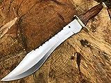 Bowiemesser mit großem Jagdmesser