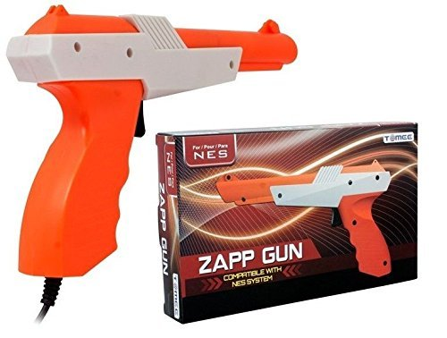 Disgrace New Zapper Light Gun Nintendo NES - Play Duck Hunt, Hogan's Alley by Grace Unlimited Selling Store
