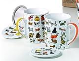 2 Kräuterteetassen Bodo und Dodo - Teebecher - Teetasse - Becher - Tasse