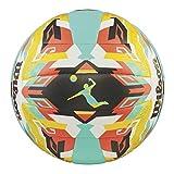 Wilson Ballon de Beach-volley, Extérieur, Utilisation Récréative, Taille Officielle, AVP AZTEC, Orange/Bleu, WTH5682XB