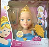 Disney Princess Cinderella Majestic Hair Styling Head by Disney Princess