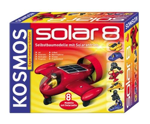 KOSMOS 626617 - Solar 8 - Selbstbaumodelle mit Solarantrieb