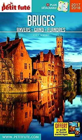 Bruges, Anvers, Gand, Flandre (1Plan détachable)
