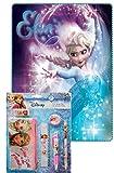 von Disney Frozen Fleece-Decke + 5 teiliges Schreibset Die Eiskönigin