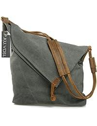 Amazon.co.uk: Canvas - Handbags & Shoulder Bags: Shoes & Bags