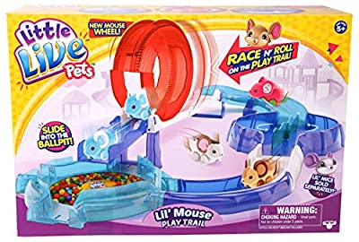 Little Live Pets S2 Playtrail Set (Multi-Color)