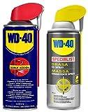 WD-40 - Lote Grasa WD40 Doble Accion 400 Ml + Specialist Grasa en Spray 400ml - Pack 2 unidades