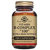 "Solgar Formula Vitamin B-Complex ""100"" Vegetable Capsules - 100 Vegicaps"
