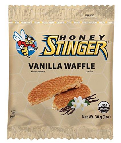 Honey Stinger Stinger organiques Gaufres, boîte de 16, Vanille