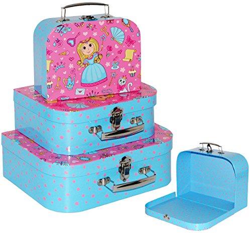 3 Stück _ Koffer / Kinderkoffer - in 3 verschiedenen Größen -