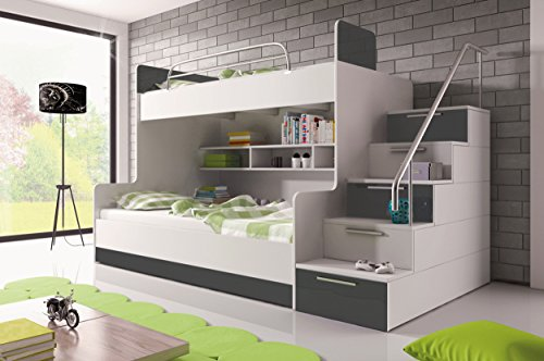 Etagenbett Nische 100 : ᑕ❶ᑐ etagenbett weiß ▻ bestseller für ihr schlafparadies ✓das