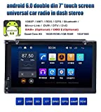 freeauto Android 6.0 universal car stereo 7 pulgadas Doble 2 DIN en Dash Jefe Unidad GPS NAV AM FM Radio Receptor de DVD Reproductor de CD Bluetooth USB SD 3 G WIFI DVR Cam-in