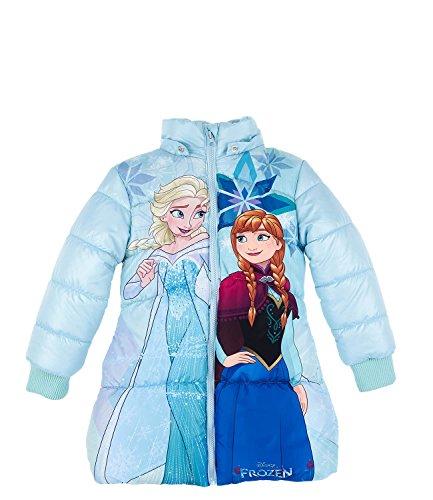 Disney El Reino del Hielo Chicas Chaqueta Anorak - Celeste