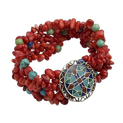 sterling-silver-fire-inspired-inlay-beaded-bracelet