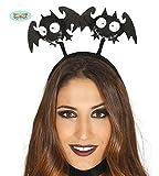 süßer Fledermaus Haarreif für Damen Halloween Horror Karneval Zubehör Tiara schwarz