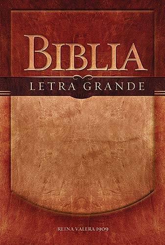 Biblia Letra Grande-RV 1909