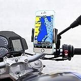 LanLan Supporto Bici Smartphone, Supporto Manubrio Universale Bici Moto porta Telefono per Smartphone GPS e altri dispositivi elettronici