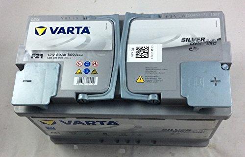 Zoom IMG-1 varta 580901080d852 silver dynamic agm