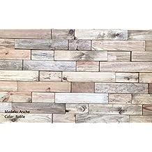 panel de madera natural con relieve para revestir paredes interiores roble