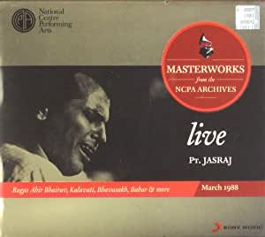 Live Masterworks from the NCPA Archives - Jasraj