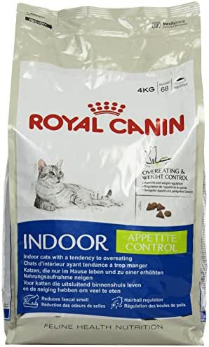Royal Canin : Croquettes Chat Indoor Appetite Control : 4kg
