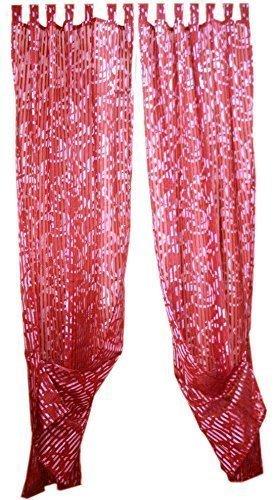 tenda-con-passanti-rosso-lucido-con-strass-a-strisce-e-decorazioni-2-pack