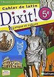 Cahier de latin 5e Dixit !