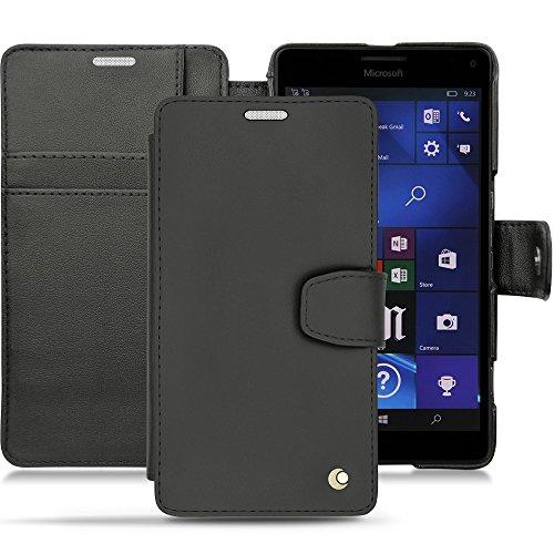 Noreve 25205tb1Folio schwarz Tasche für Handy–Hülle für Mobiltelefone (Folio, Microsoft, Lumia 950XL/950XL Dual SIM, schwarz)