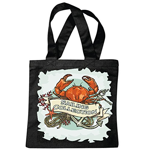 sac à bandoulière CANCER CRAB VOILE COLLECTION PIRATE VOILIER VOILIER DIRECTION SKULL CORSAIR ANCRE SKULL PIRATE VOILIER VOILIER DIRECTION SKULL PIRATE SAILING Collektion SKULL CANCER DE DIRECTION BU