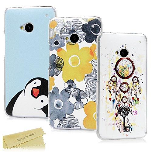 htc-one-m7-hulle-maviss-diary-3x-case-pc-plastik-hardcase-back-cover-tasche-schutzhulle-anti-scratch