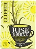 Clipper Organic Infusion Rise and Shine Mate Lemongrass and Lemon Verbena Enveloped 20 Teabags 40 g (Pack of 6)