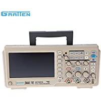 KKmoon GA1102CAL Professionale Oscilloscopio Memoria Digitale 2CH 100MHz 1GSa / s 7