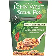 John West Steam Pots Tuna & Basil