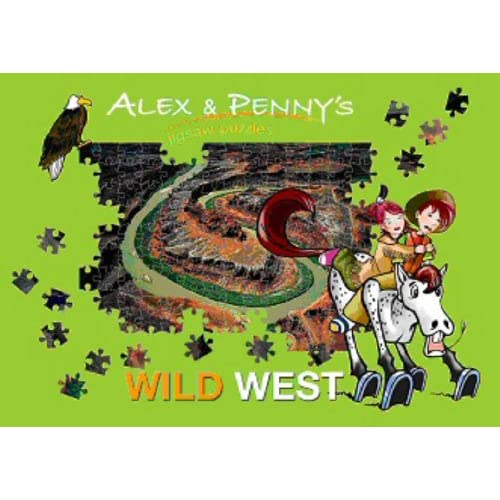 Alex And Penny In The Wild West Puzzle Book