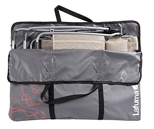 Lafuma Transporttasche XL für alle Relaxliegestühle und Sunside-Sonnenliege, anthrazit