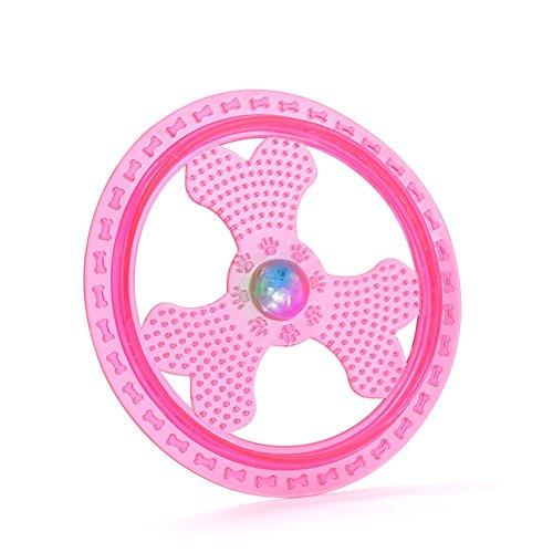 Wildlead Hundespielzeug, leuchtende LED-Fliegerscheibe,… | 07613909677216