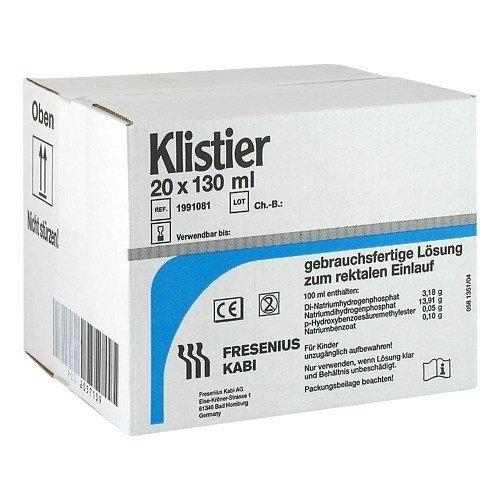 KLISTIER, 20X130 ml