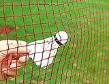 Angker Filet de badminton (en nylon tressé rouge) pour l'intérieur et l'extérieur