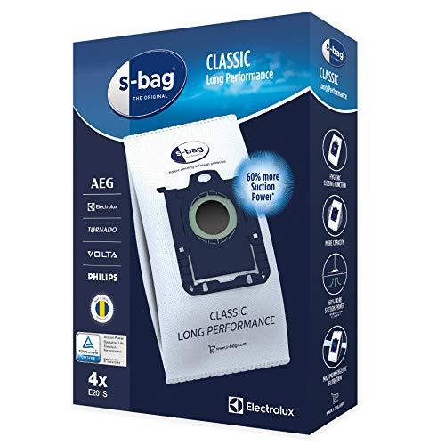 Electrolux E201S E201S-4 Sacs S-Bag Long Performance, Aucune