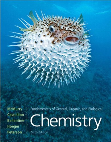 Fundamentals of General, Organic, and Biological Chemistry: United States Edition