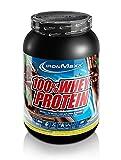 IronMaxx 100% Whey Protein - Wasserlösliches Proteinpulver - Eiweißpulver mit Dark Ecuador Chocolate Geschmack - 1 x 900 g Dose