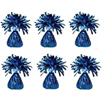 Henbrandt 12 x Blue Foil 95g Balloon Weights For Birthdays Weddings Engagement Party