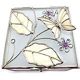 Jewelry box 'Papillon De Soie' purple pearl.