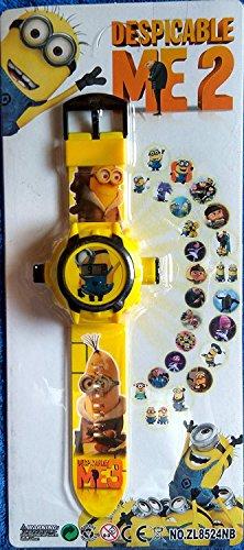 minions ME3 Cartoon images Projector Watch Kids Digital Wrist Watch cartoon character watch