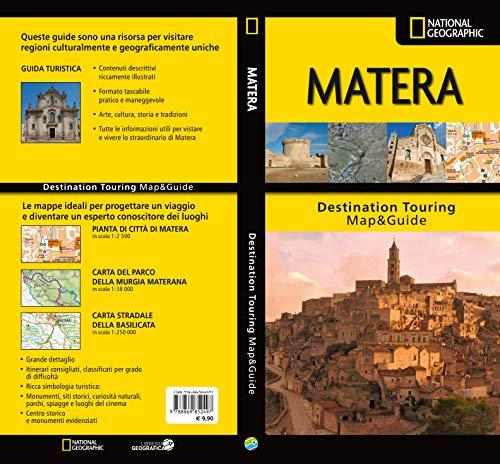 Matera. carta stradale e guida turistica. 1:200.000